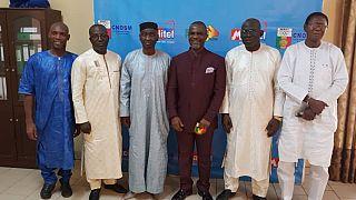 Visite de courtoisie du président de l'AIPS-Afrique Mitchell Obi au Comité National olympique et Sportif du Mali