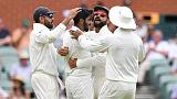 Lyon removes Kohli but India in control in Adelaide