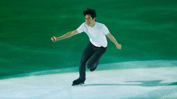 Figure skating - Chen tops Uno to take gold in Vancouver Grand Prix