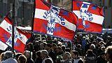 Lega: folla in piazza del popolo