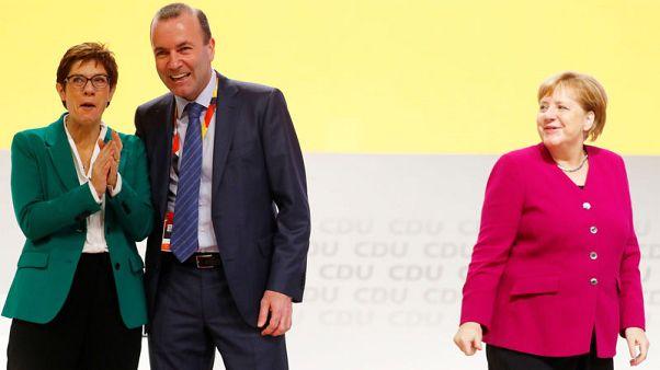 Kramp-Karrenbauer seeks to unite German CDU after leadership battle