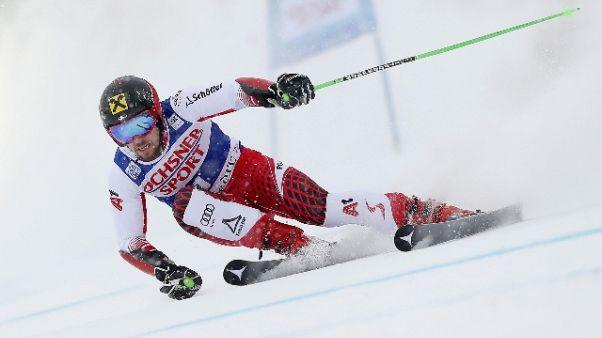Sci: Hirscher vince gigante Val d'Isere