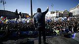 Après 6 mois de pouvoir, Salvini rassemble ses troupes à Rome