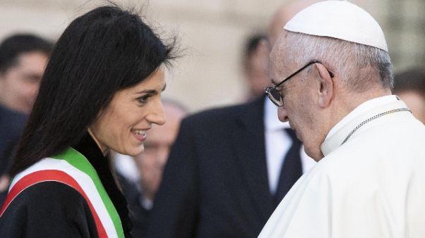 Papa: saggezza per chi governa Roma