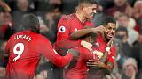 United crush Fulham for first league win in five games