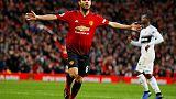 يونايتد يسحق فولهام في اول انتصار له في الدوري الانجليزي خلال خمس مباريات