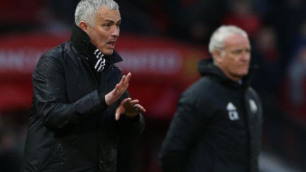 Ranieri, un brutto Ko contro Mourinho