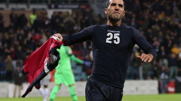 Calcio: Cagliari-Roma 2-2