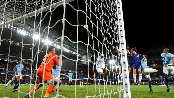 Chelsea end Man City's unbeaten run with 2-0 win