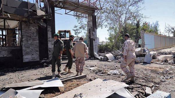 Iran arrests 10 suspects in suicide bombing that killed two