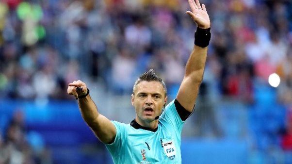 Champions,gli arbitri per Napoli e Inter