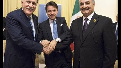 Libia: Conte, vedrò Haftar e Sarraj