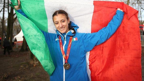 Europei cross, Nadia Battocletti oro U20