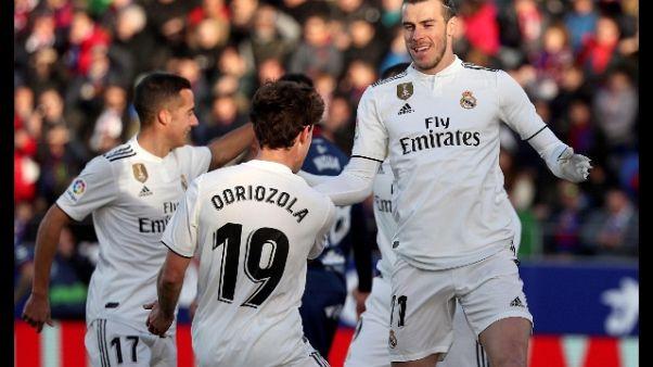Liga: Bale basta al Real, 1-0 all'Huesca