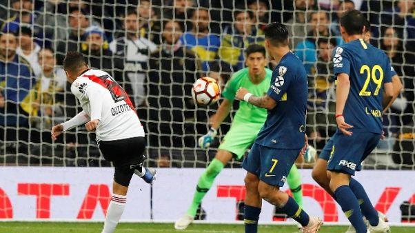 Libertadores: River-Boca 3-1
