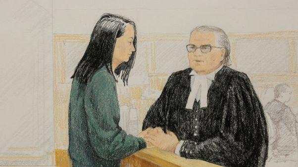 China's Huawei executive bail hearing adjourned to Tuesday