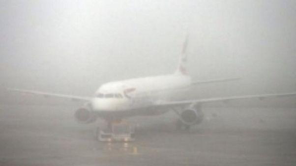 Aeroporti, disagi per nebbia a Firenze
