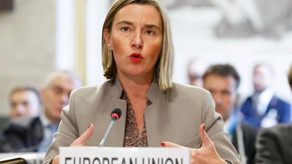 EU blacklists nine over rebel Ukraine vote but signals no new Russia sanctions