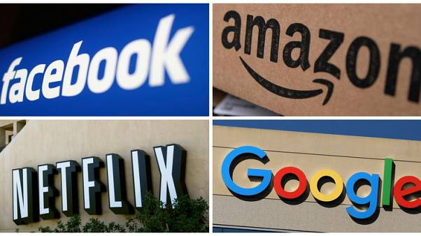 Graphic - Deep losses leave Big Tech with small earnings multiples