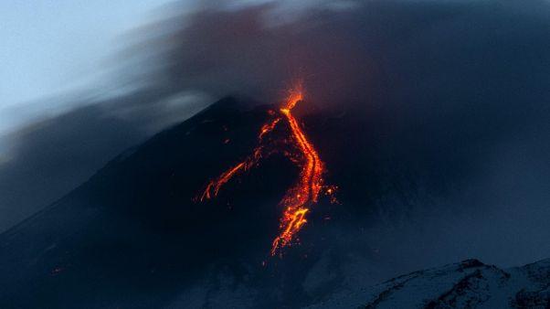 Etna: eruzione da nuovo cratere Sud-Est