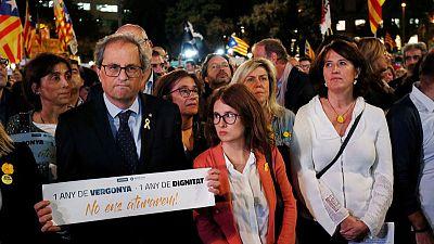 Catalan hunger strikers sending message, not risking life - jailed separatist