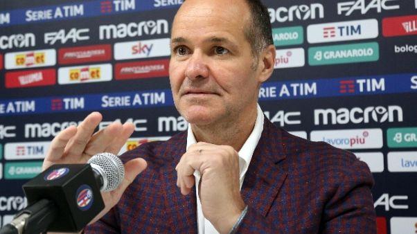 Bologna: Saputo, Inzaghi resta