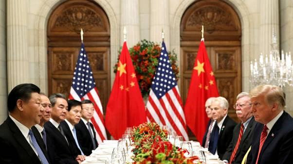 China, U.S. discuss road map for next stage of trade talks
