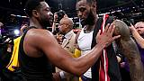 Lakers-Miami Heat: le dernier mot pour LeBron James face à Dwyane Wade
