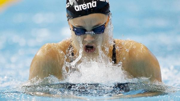 Nuoto, Martina Carraro record su 50 rana