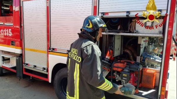 Olbia,ancora off limits palazzo evacuato