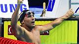 Mondiali 25m, Detti bronzo nei 400 stile