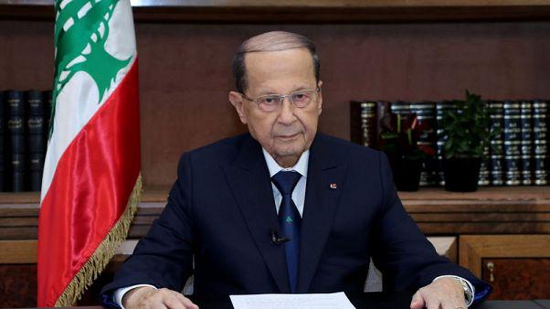 "Lebanon's Aoun intervenes to help form government, avoid ""catastrophe"""
