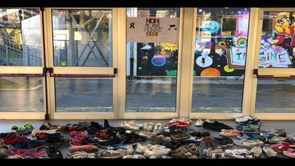 Liceo Milano commemora vittime Corinaldo