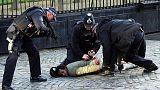 الشرطة البريطانية تستخدم مسدسا صاعقا لإيقاف رجل داخل حرم البرلمان