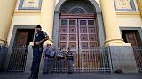 Five dead, four wounded in shooting at Catholic cathedral in Brazil