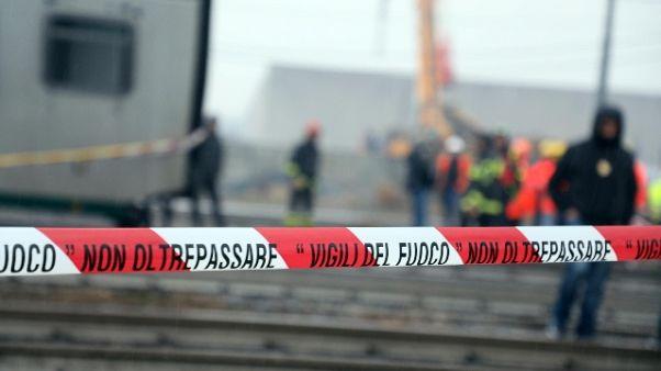 Treno deragliato, consulenti pm:anomalie