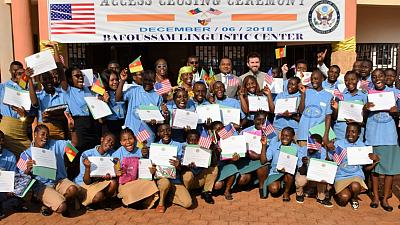 Bafoussam Hosts the First English Access Microscholarship Program Graduation