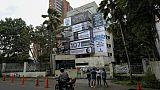 A Medellin, hommage aux victimes d'Escobar sur son ancienne résidence