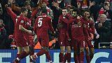 Ligue des champions: Liverpool fait trembler Anfield mais file en huitièmes