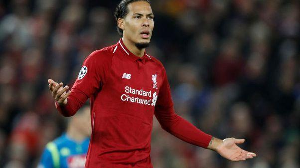 Liverpool made hard work of Napoli, says Van Dijk