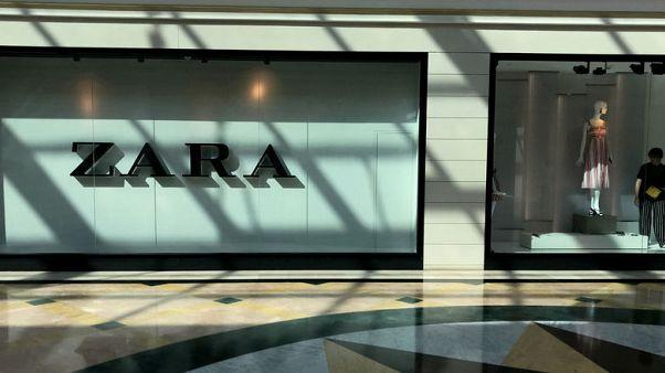 Zara owner Inditex reports four percent profit growth
