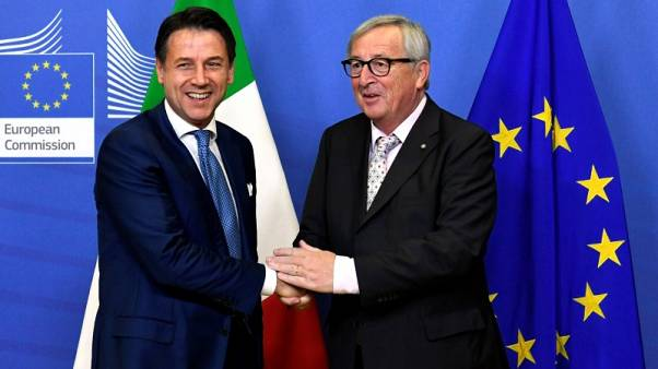 Italy PM Conte meeting with Juncker confirmed at the moment - source