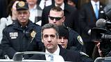 Trump ex-lawyer Cohen sentenced to 3 years prison on campaign charge