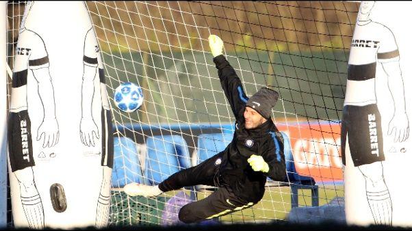 Inter:Handanovic,bisogna guardare avanti