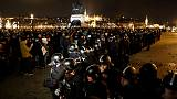 Hungarians protest at 'slave law' labour reform