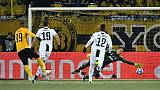 C1: la Juventus plie face à Hoarau mais garde la tête