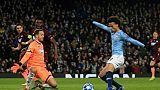 C1: Manchester City sort premier de son groupe grâce à un doublé de Sané