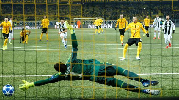 Young Boys stun Juventus with Hoarau brace