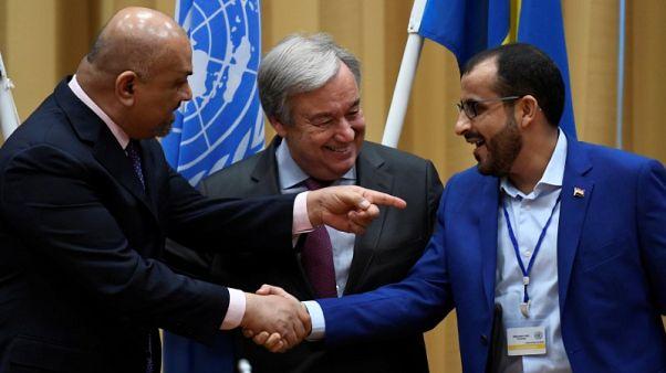 Yemen's warring parties agree to ceasefire in Hodeidah and U.N. role