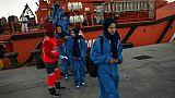 Le mauvais temps d'automne n'arrête plus les migrants dans le détroit de Gibraltar